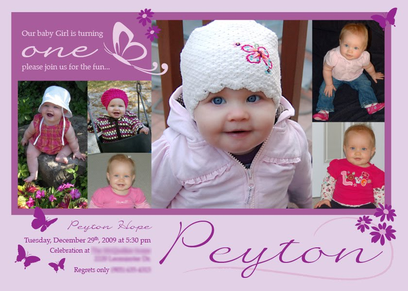 Birthday invitations buttercupprints birthday invitation card for peyton stopboris Image collections